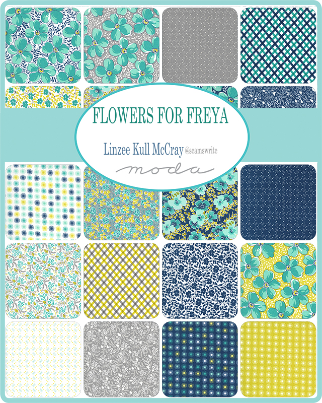 Flowers for Freya by Linzee Kull McCray